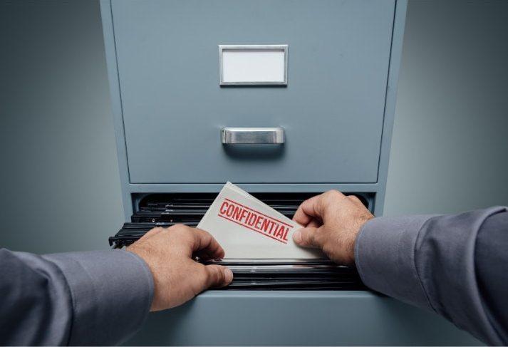 Protect confidential data